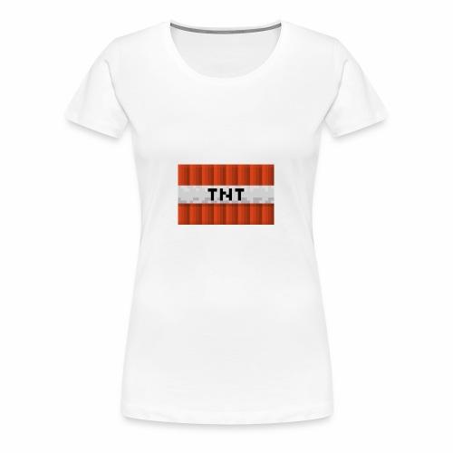 tnt logo - Vrouwen Premium T-shirt