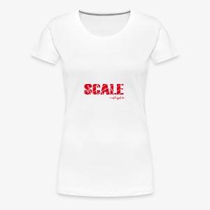 SCALE Logo - Frauen Premium T-Shirt