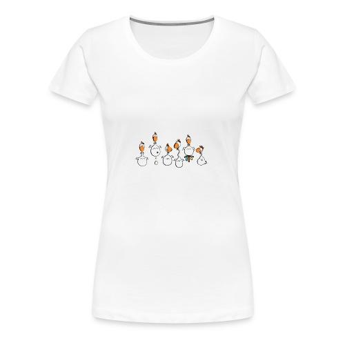 crazy chicken - Frauen Premium T-Shirt