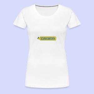 scubasweden logo - Premium-T-shirt dam
