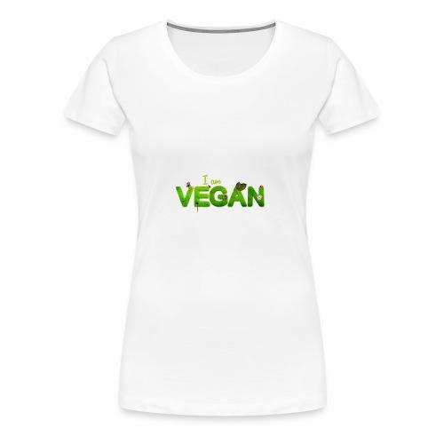 i am vegan - T-shirt Premium Femme