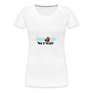 Pinup Norway - Premium T-skjorte for kvinner
