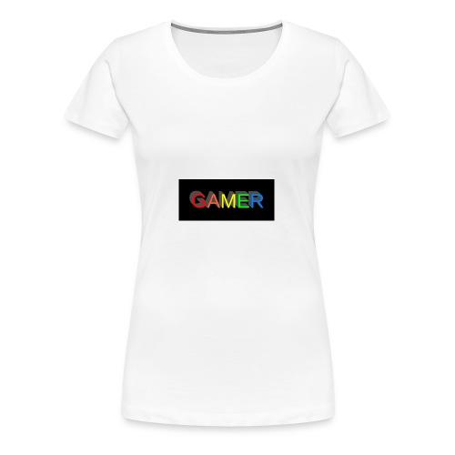gamer shirt logo - Women's Premium T-Shirt