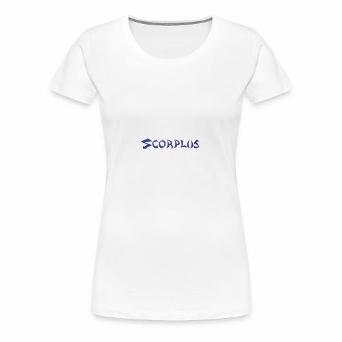 Banniere Team BLUE - T-shirt Premium Femme