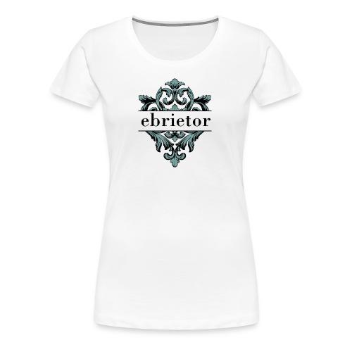 Ebrietor Official Logo - Premium-T-shirt dam