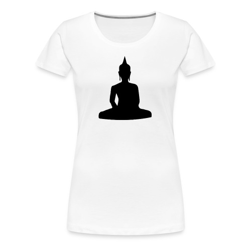 Meditation, Buddha - Frauen Premium T-Shirt