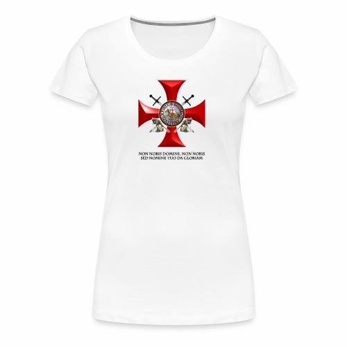 TEMPLARIOS. - Camiseta premium mujer