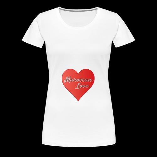 Maroccan_Love_LifeStyle Logo - Frauen Premium T-Shirt