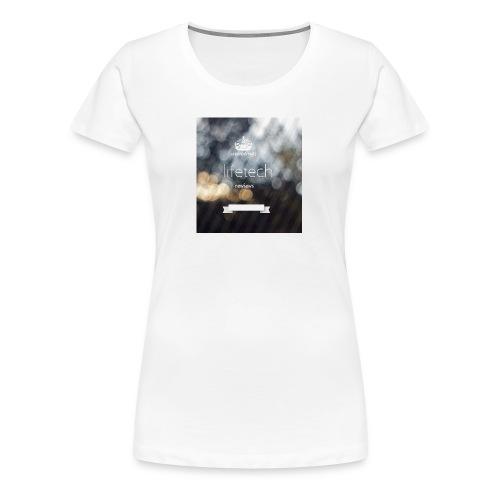 lifetech logo - Frauen Premium T-Shirt