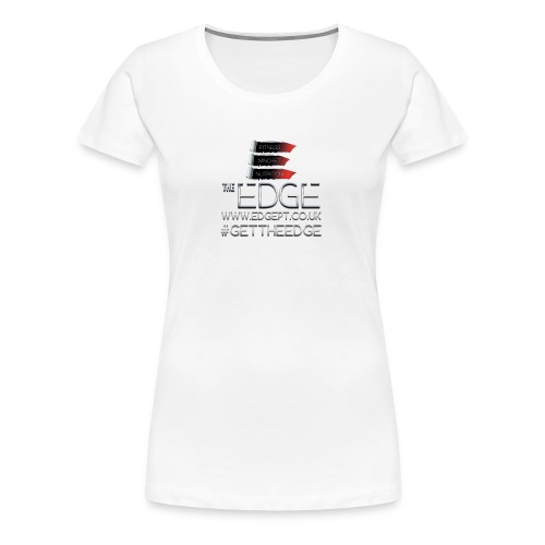 The Edge Logo - Women's Premium T-Shirt