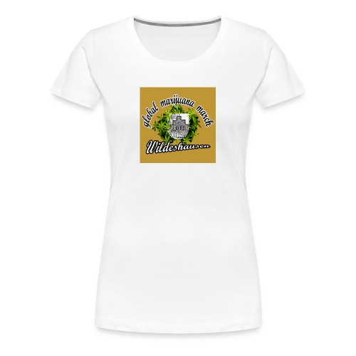 gmm logo gechnitten quadtrat - Frauen Premium T-Shirt