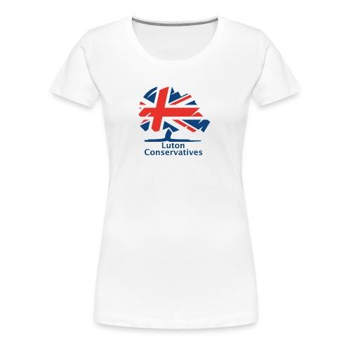 Luton Conservatives Badge - Women's Premium T-Shirt