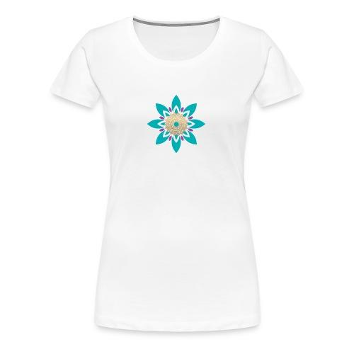 Flower of Love - Vrouwen Premium T-shirt
