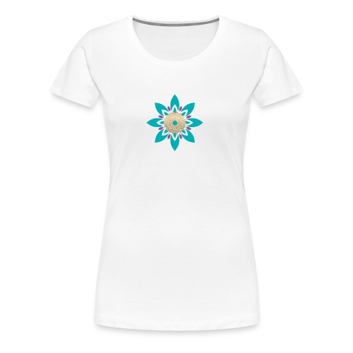 Flower of Love - Vrouwen Premium T-shirt