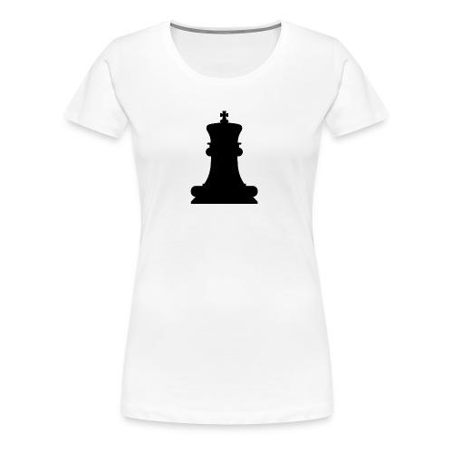 The Black King - Women's Premium T-Shirt