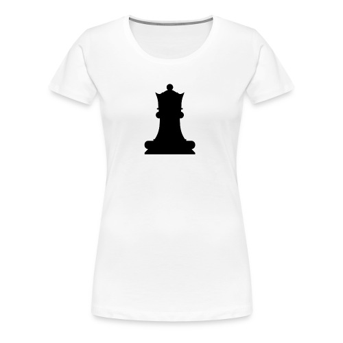 The Black Queen - Women's Premium T-Shirt