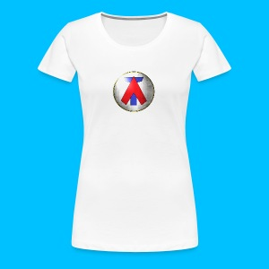AT LOGO - Frauen Premium T-Shirt