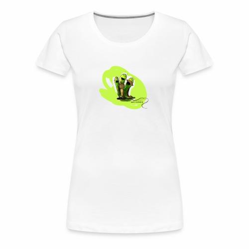 Die drei singenden Salatgurken - Frauen Premium T-Shirt
