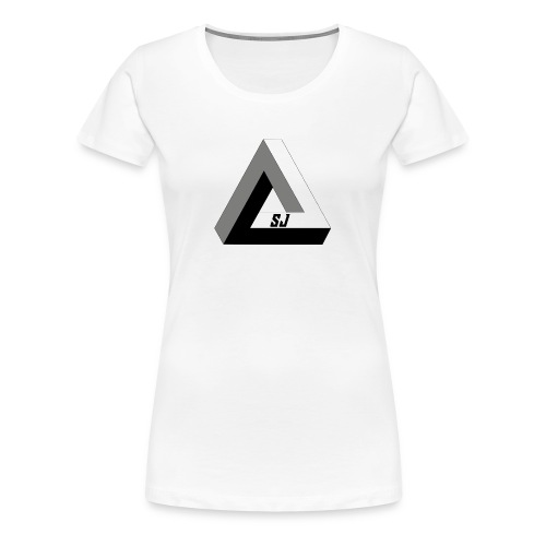 SJ Unlimited triangle - Premium T-skjorte for kvinner