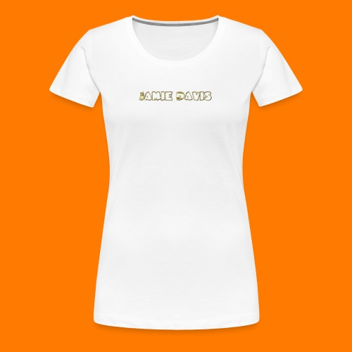 Gold Bar - Women's Premium T-Shirt