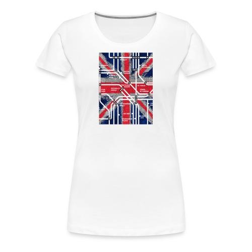 tube map - Women's Premium T-Shirt