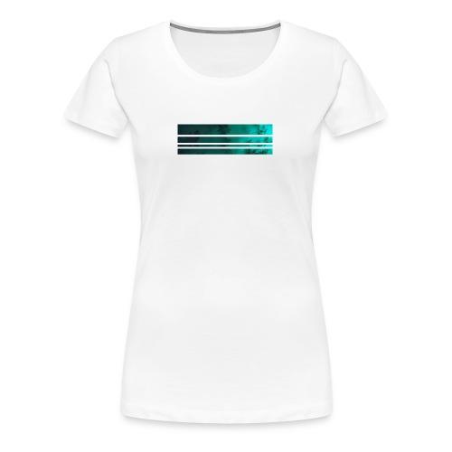 blaettergruen - Frauen Premium T-Shirt