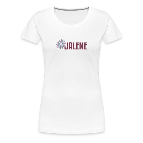 Logo Jalene - Frauen Premium T-Shirt