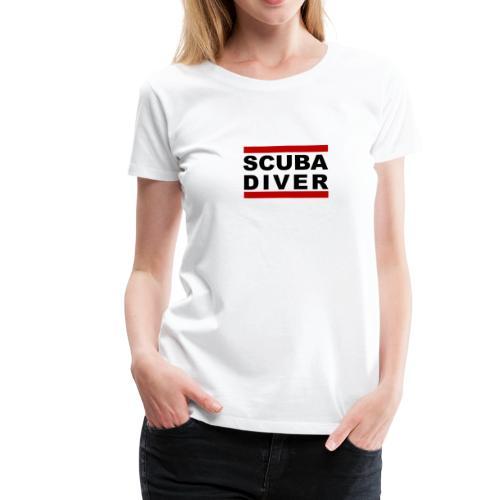 Scuba Diver - Frauen Premium T-Shirt