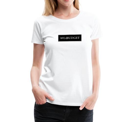 LB Box Logo Design - Frauen Premium T-Shirt