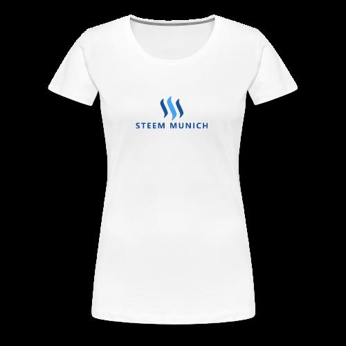 STEEM MUNICH PNG - Frauen Premium T-Shirt
