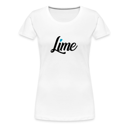 0 3 0 logo font black - Frauen Premium T-Shirt