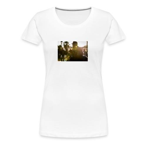 Shaka saxo - T-shirt Premium Femme