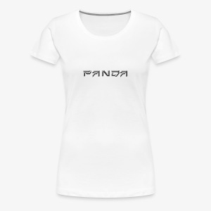 PANDA 1ST APPAREL - Women's Premium T-Shirt