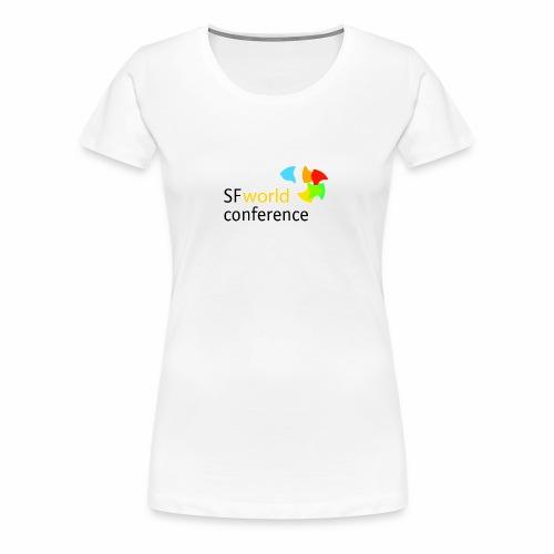 SFworldconference T-Shirts - Frauen Premium T-Shirt