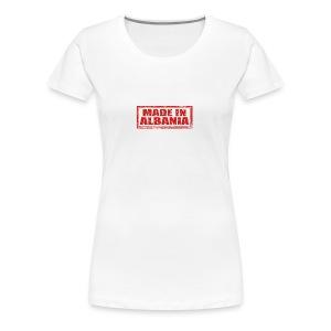 Made in Albania - Frauen Premium T-Shirt