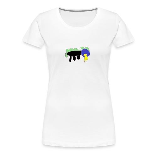 Emilys kleiner Drache - Frauen Premium T-Shirt