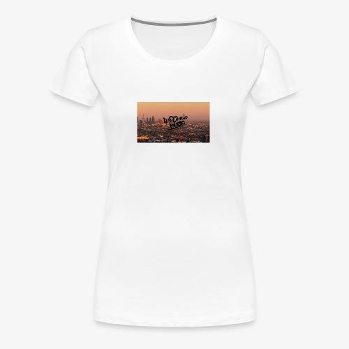 Baniere wecomine - T-shirt Premium Femme