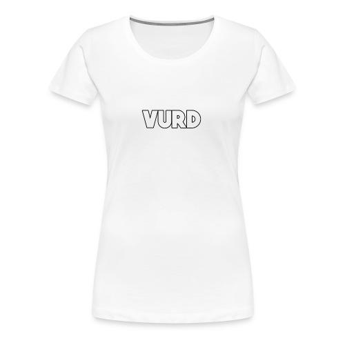 Vurd Clothing - Premium-T-shirt dam