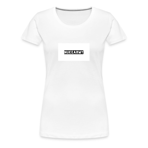 NukeArmy - Frauen Premium T-Shirt