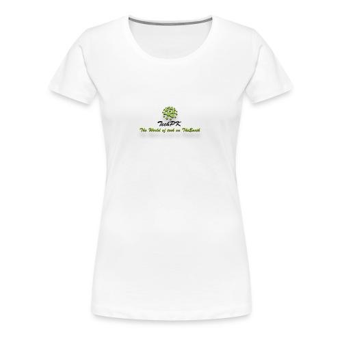 TechPK Branded T-Shirt - Women's Premium T-Shirt