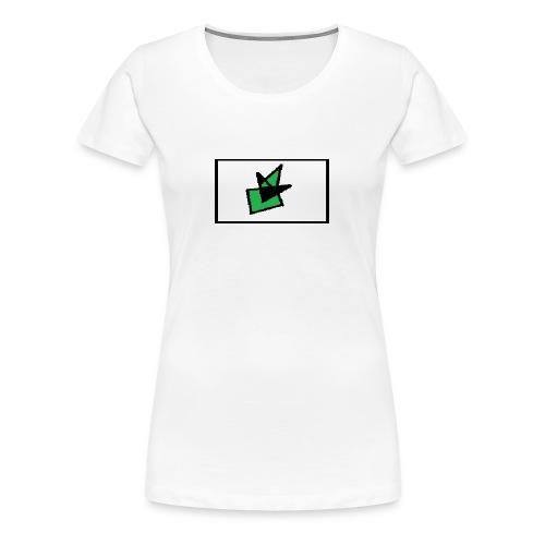 Grønn Terro - Premium T-skjorte for kvinner