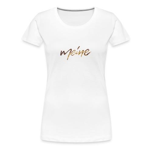 Meine Logo CD - Frauen Premium T-Shirt