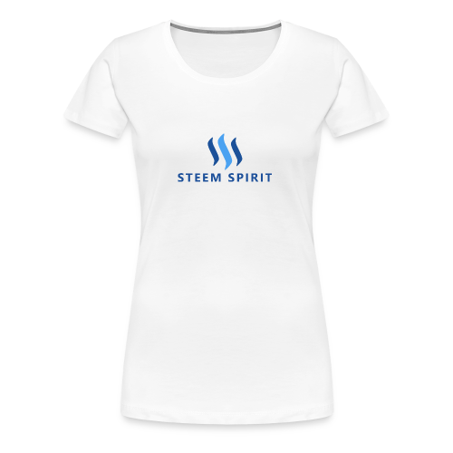STEEM SPIRIT PNG - Frauen Premium T-Shirt
