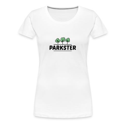 Parkster Logo - Frauen Premium T-Shirt