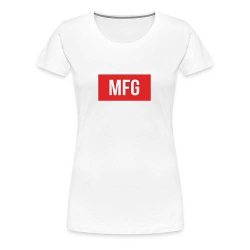 MFG on Youtube Logo - Women's Premium T-Shirt