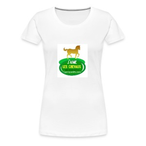 logo1parisportifs - T-shirt Premium Femme