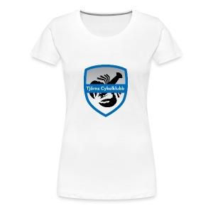 tjornscykelklubb-logga - Premium-T-shirt dam