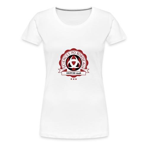 Sciences Po Bordeaux 2016-2017 - T-shirt Premium Femme