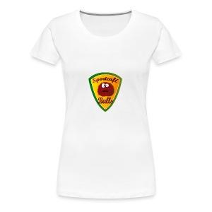 Logo Sportcafé Balls - Vrouwen Premium T-shirt