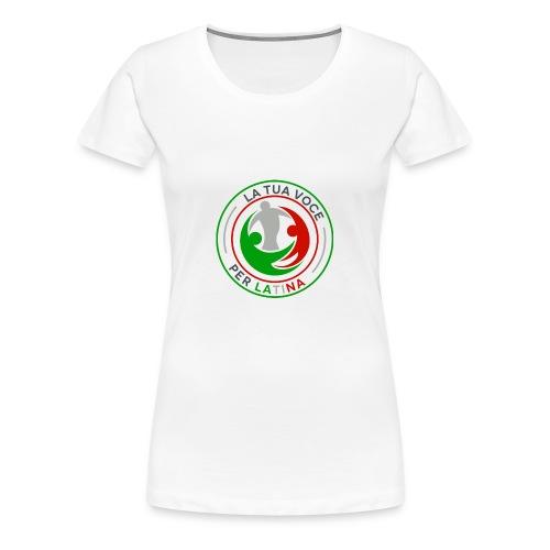 LA_TUA_VOCE_PER_LATINA_01-png - Maglietta Premium da donna